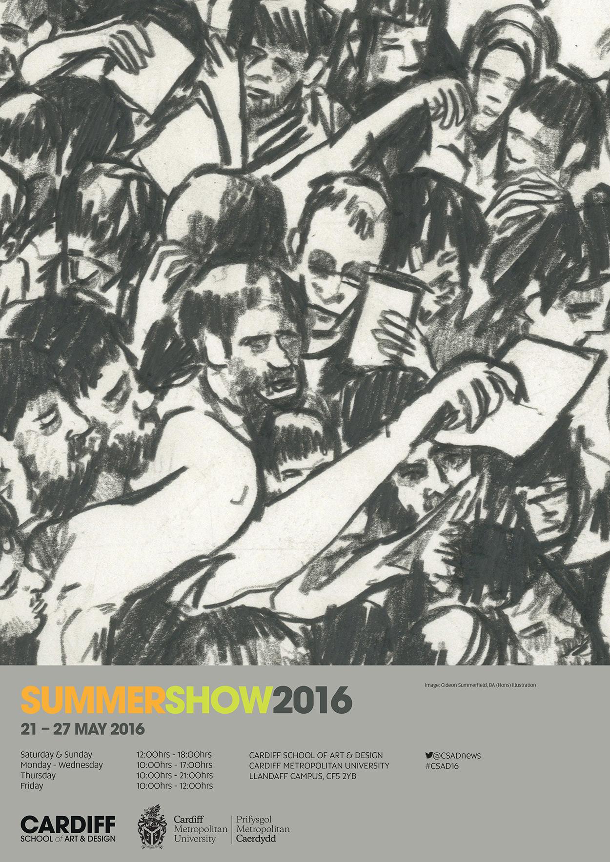 2016 Undergraduate Degree Show Poster