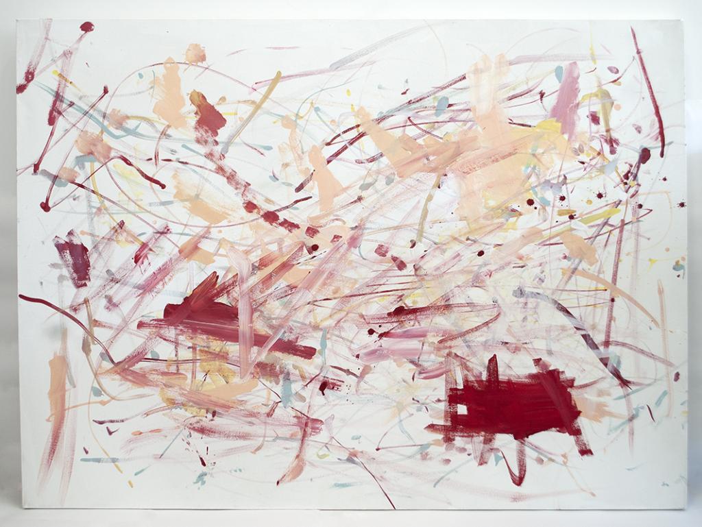 Alana Lindsay painting
