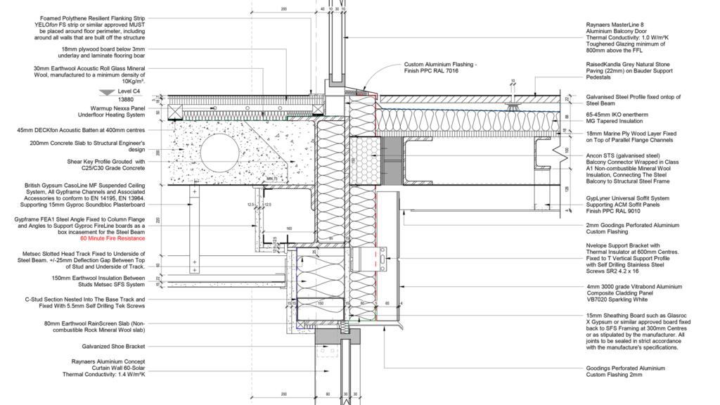 Callum Richards Intermediate Balcony Detail