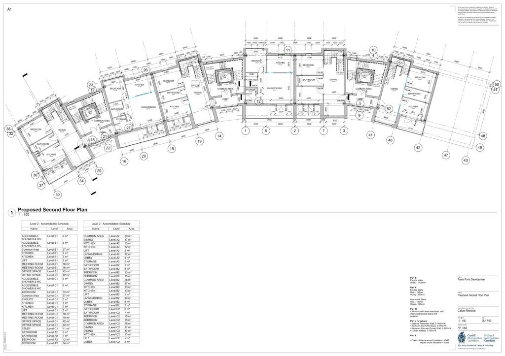 Callum Richards Second Floor Plan
