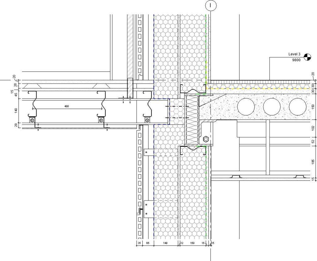 Dafydd Morgan Balcony Connection Detail