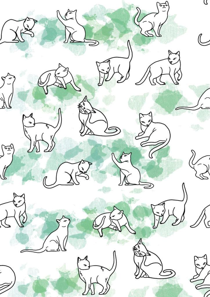 Glesni Ann Rees_Farm Cats 1