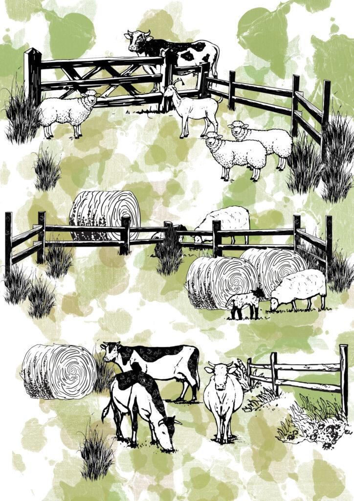 Glesni Ann Rees_farm animals