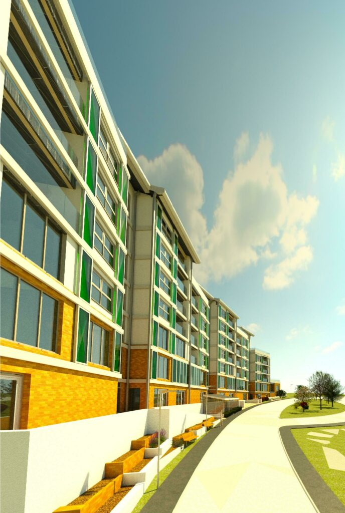 Jack Edward DEyncourt-Harvey-Rice Friars point site plan 3D View