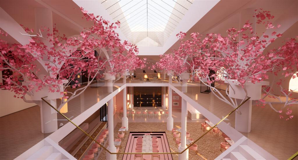 Katherine Loftus_2124798_assignsubmission_file_Katherine Loftus – Japan House – Upstairs View