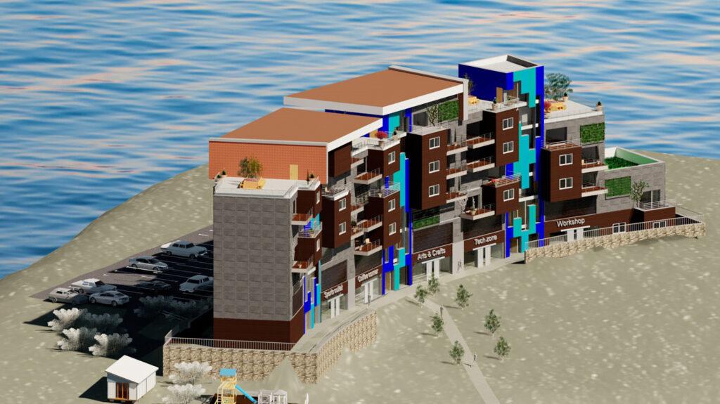 Mariam El Hafed Building on site