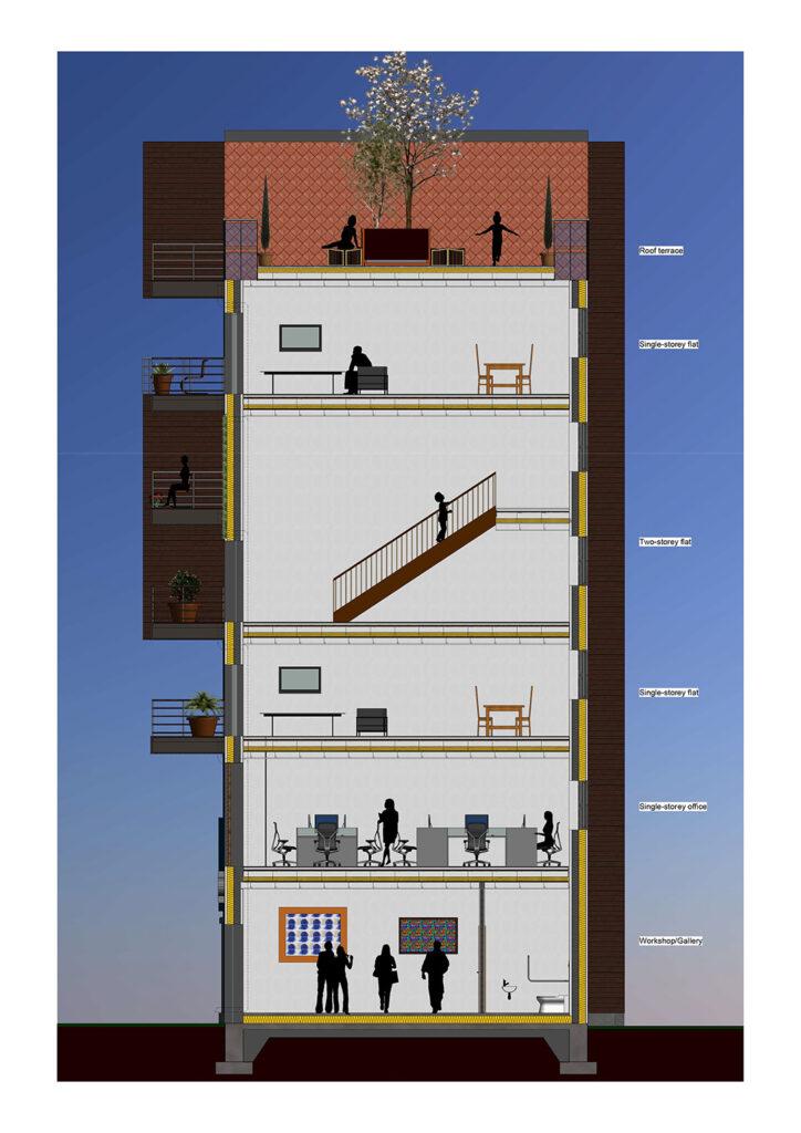 Mariam El Hafedi floor plan