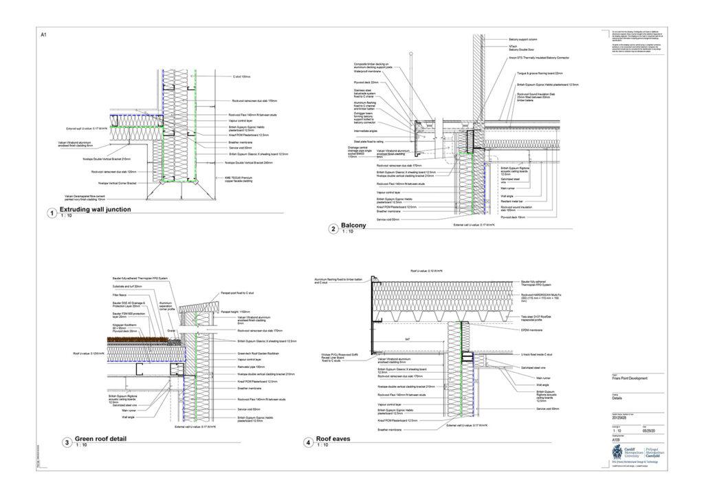 Mariam El Hafedi Friars point – floor plan