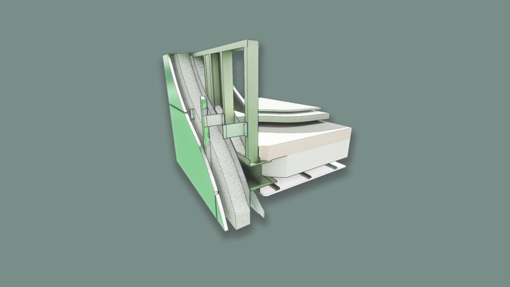 Mason James Parapet 3D Detail 1