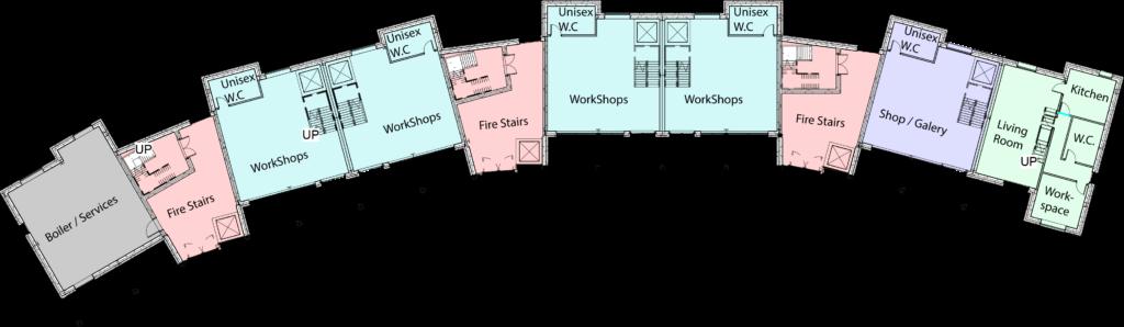Mohammed Qamar Raza Ground Floor plan