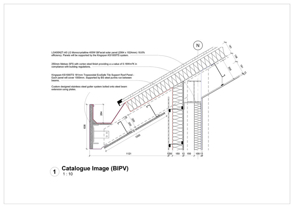 Owain Morris BIPV Roof 2D Detail