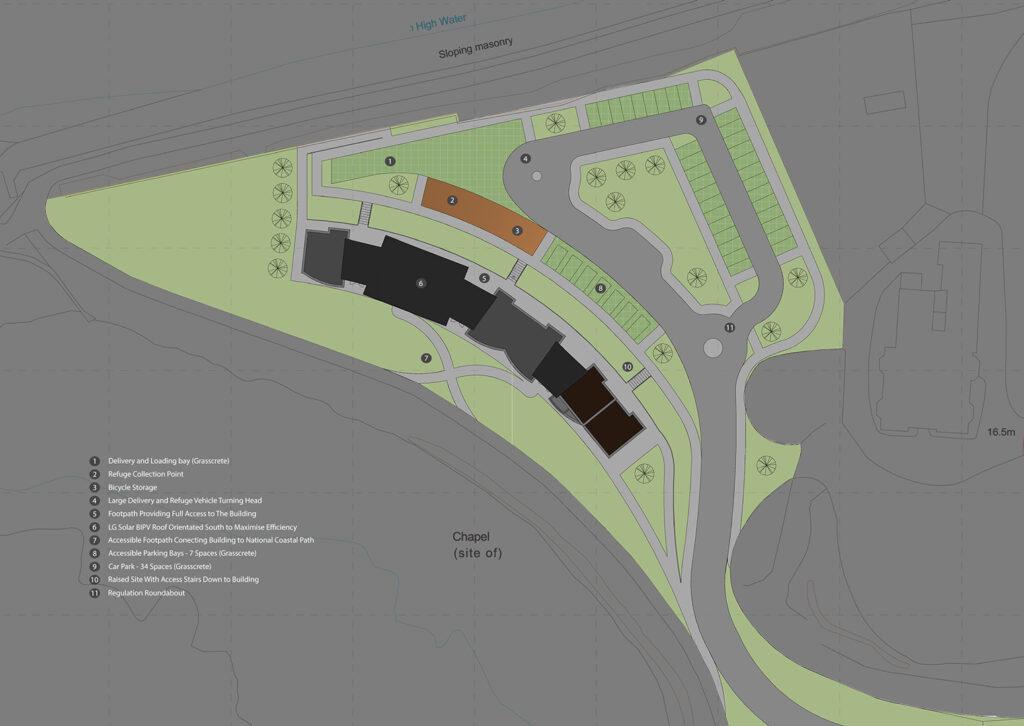 Owain Morris Site Plan