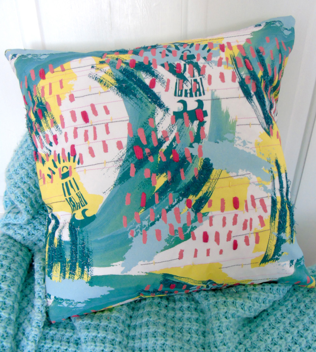 Blustery Cushion