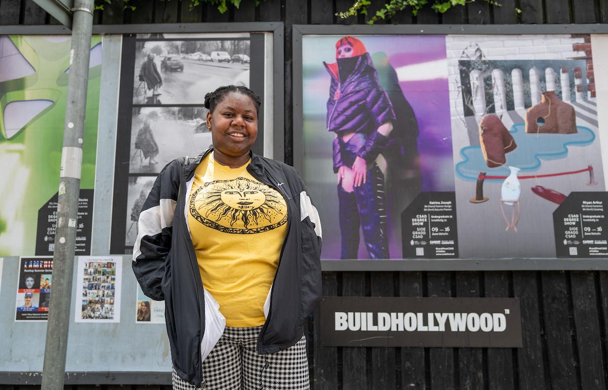 Katrina Joseph's Degree Show Billboard Poster